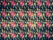 Free Grunge Colorful Triangles Stock Photo - 31697610
