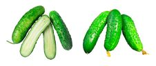 Free Cucumbers Stock Photography - 31698812