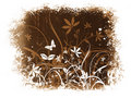 Free Floral Grunge Royalty Free Stock Photo - 3170745