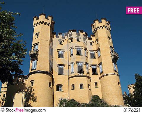 Castle Hohenschwangau, Germany Stock Photo