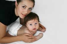 Happy Motherhood Stock Photography