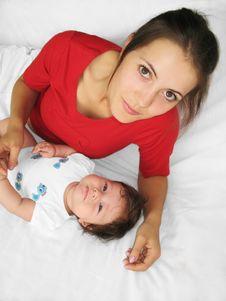 Happy Motherhood Royalty Free Stock Photos