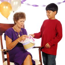 Free Birthday Giving And Receiving Stock Photo - 3170090