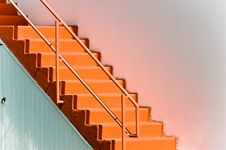 Free Pink Staircase Royalty Free Stock Photos - 3172378