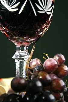 Free Glass With Wine Royalty Free Stock Photography - 3172387