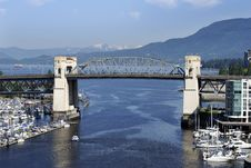 Free Old Vancouver Bridge Royalty Free Stock Image - 3172436