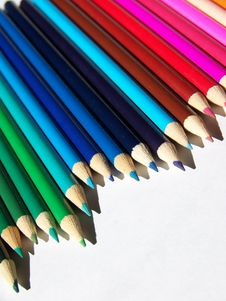 Free Pencil Crayons Royalty Free Stock Images - 3172519