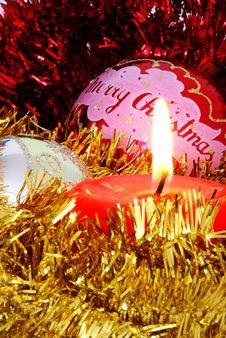 Free Christmas Theme Royalty Free Stock Photography - 3172737