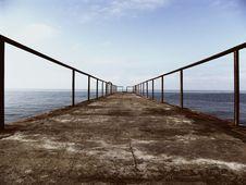 Free Road To The Sea Stock Photo - 3172820