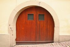 Free Old Fashioned Door Royalty Free Stock Image - 3173156
