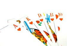 Free Royal Flush Royalty Free Stock Photo - 3173215
