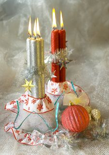 Free Candles Royalty Free Stock Photos - 3173538