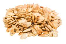 Free Roasted Pumpkin Seeds Royalty Free Stock Image - 3173696