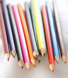 Free Colored Pencils Stock Photos - 3174153
