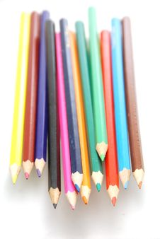Free Colored Pencils Stock Photo - 3174160