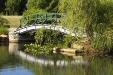 Footbridge Royalty Free Stock Photography