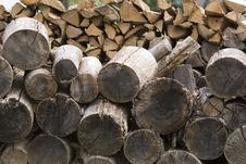 Free Woodpile Stock Images - 3174434