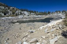 Lake In Wasatch Mountains Royalty Free Stock Images