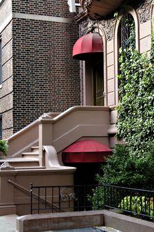 Staircase Manhattan Condo Stock Image