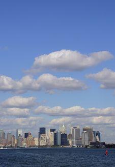 Free New York Manhattan Skyline Royalty Free Stock Images - 3174539