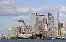 Downtown Manhattan New York Stock Image