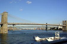 Free Brooklyn Bridge Royalty Free Stock Photos - 3174578
