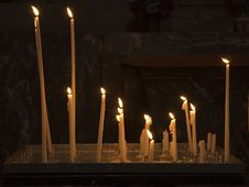 Free Candles Royalty Free Stock Photo - 3174595
