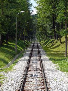 Free Gubalowka - Funicular Railway Stock Photo - 3175260