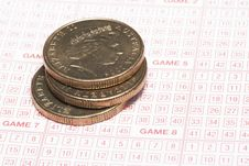 Free Lottery Ticket Royalty Free Stock Photo - 3175755
