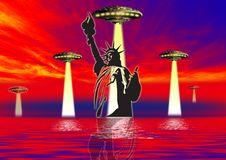 Free Ufo World Royalty Free Stock Image - 3175936