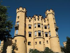 Free Castle Hohenschwangau, Germany Stock Image - 3176221
