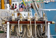 Free Golden Nautic Pieces Stock Image - 3176691
