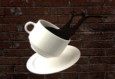 Free Cup Of Coffee Royalty Free Stock Photos - 3177298