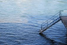 Free Stairway To Water Stock Photography - 3177522