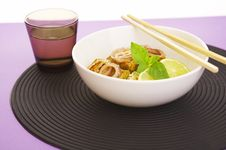 Free Noodles And Fish Royalty Free Stock Image - 3178336