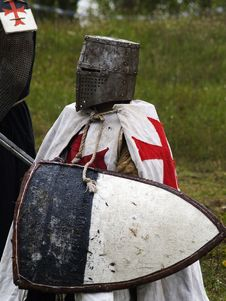 Free Crusader Sitting Stock Photo - 3179200