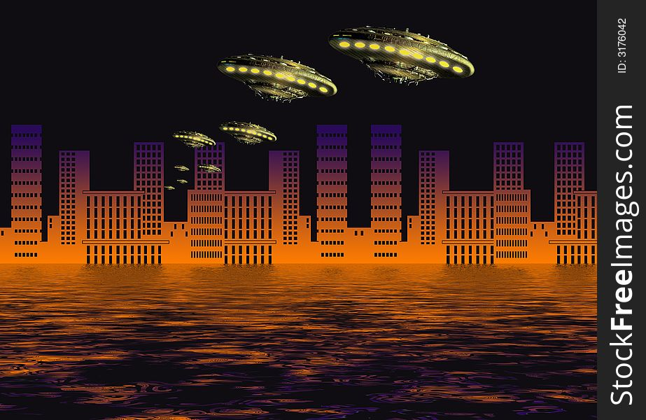 Ufo visitors