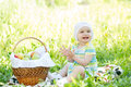 Free Baby Eating Apples Outdoors Stock Photos - 31704643