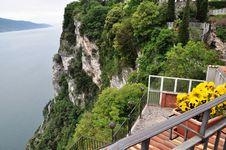 Pieve, Tremosine, Italy Royalty Free Stock Images