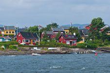 Oslo Islands Royalty Free Stock Photography