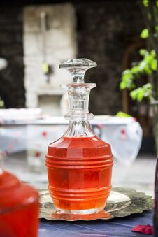 Free Aperitif In The Bottle Royalty Free Stock Photography - 31702007