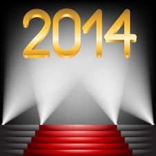 Free 2014 Year Royalty Free Stock Images - 31704239