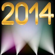 Free 2014 Year Stock Photo - 31704320