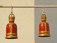 Free Red Bell Pairs Stock Images - 31706634