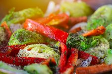 Free Fresh Vegetables Background Royalty Free Stock Photography - 31706837