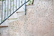 Free Staircase With Primitive Mosaic Design, Horizontal, Arabic Baths Palma De Mallorca Stock Image - 31710661
