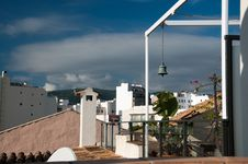 Free Rooftops And Bell Royalty Free Stock Photo - 31711485