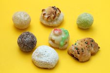 Free Almond Paste Sweets Royalty Free Stock Images - 31712229