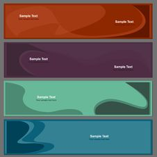 Free Backgrounds For Banners In Set Royalty Free Stock Photos - 31713138