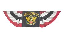 Free Welcome Banner Flag Isolated. Stock Photo - 31715810